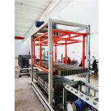 Máquina de fatura de tijolo concreta inteiramente automática