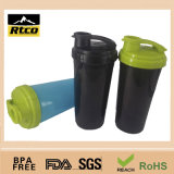 700ml/25oz PP Material Plastic Protein Shaker Bottle с Comparments BPA Free Shk-031