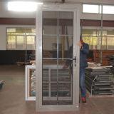 Thermischer Bruch-Aluminiumprofil-Flügelfenster-Tür mit Stahlmoskito-Netz und Rasterfeld innerhalb des doppelten Glases Kz221