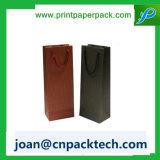 Bestellte verschiedene Farben-Form vertikalen Strupe Papierbeutel voraus