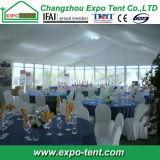 Chaud-Vente de la grande tente mise à jour d'usager avec la décoration