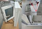 Openslaand raam van de Verkoop UPVC van de Fabrikant van China het Directe