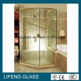 vidro de segurança Tempered densamente curvado de 12mm com CCC&ISO