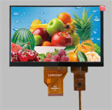 Display do módulo LCD TFT de 7 polegadas com painel tactil capacitivo