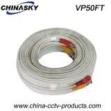 50FT Energie und Video Vor-Bildeten Kabel siamesisch für CCTV-Kamera (VP50FT)