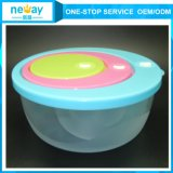 Cute trasparente 3 Sets Food Container per Wholesale