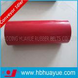 Kwaliteit Verzekerde RubberDiameter 89159mm van de Nuttelozere Rol van de Transportband Zwarte Rode Groen Huayue