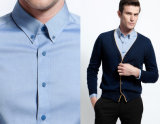 Light de Design Men da forma - Button azul Down Dress Shirt