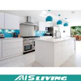 カスタム光沢度の高いラッカー食器棚の家具(AIS-K059)