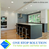 Gli alti armadi da cucina di rivestimento della lacca di lucentezza si dirigono la mobilia (ZY 1001)