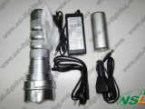 24W Rechargeable HID Torch Light Flashlight (NSL-24W)