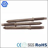 Продетый нитку конец стальных болтов металла специальный выполненный на заказ двойной привинчивает стержни