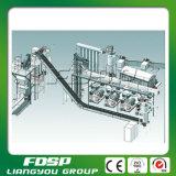 usine automatique de granule de sciure de la biomasse 1-10tph