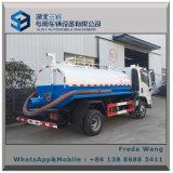 Mini camion di pulizia della fogna dell'indicatore luminoso 4*2 di FAW Fac fecale o camion di aspirazione delle acque luride