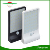 lampada solare di obbligazione fissata al muro solare esterna ultrasottile dei 36 LED del giardino di 3.5W indicatori luminosi di via con il sensore di movimento