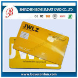 Plástico RFID Smart Chip Contacto / sin contacto IC tarjeta de suministro