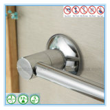 ドア上の吸引のコップが付いているステンレス鋼のタオル掛け棒