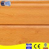 Hölzerne Muster-Stahlabdeckung farbenreiches PU-Sandwich-Panel