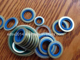 NBR FKM Viton Rubber zu Metal Dowty/Usit-Ring Bonded Seals