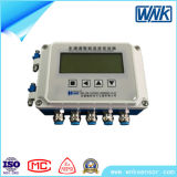Transmisor inteligente de la temperatura 4-Channel con Housig y la visualización del LCD