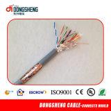 Câble de réseau de la catégorie 6 de CAT6 UTP avec Ce/ETL/RoHS/ISO9001
