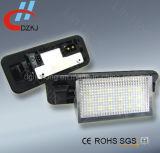 luz sem erros da matrícula do diodo emissor de luz de 2X 18SMD para BMW E36 92-98