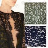 Laço elástico da tela do Crochet do laço dos acessórios do vestuário/laço do bordado/tela do laço/laço de Eyelesh