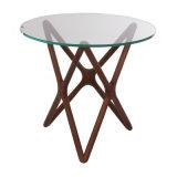 豪華な様式の円形のコーヒーテーブル