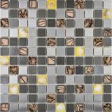 Плитка мозаики смешанного металла Stee цвета нержавеющего смешанная кристаллический для плитки пола (FYMF3014)