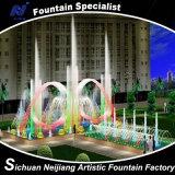 Bocal colorido de /Fountain da fonte da música do controle de programa