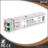 Erstklassige 100Base-ZX 1550nm 80km SFP optische Baugruppe