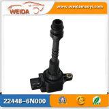 Rendimento elevato dell'OEM 22448-6n000 per la bobina di accesione automatico piena di sole dei Nissan
