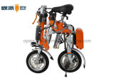Bicicleta eléctrica plegable para adultos Ciudad Bicicleta eléctrica de empuje
