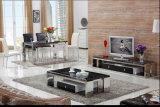 2016 de Nieuwe Koffietafel van het Metaal van de Stijl met Houten Kabinet
