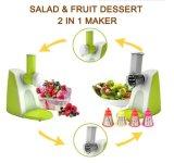 2 dans 1 tireur multifonctionnel de salade, générateur de salade
