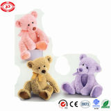 Le cadeau de trois choix de couleurs Nice badine l'ours de nounours de jouet