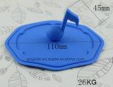 찻잔 SL13를 위한 차잔 실리콘 덮개를 위한 악보 실리콘 뚜껑