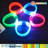 Wristband infiammante del braccialetto del LED per il concerto di eventi