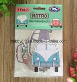 Ambientador de aire de papel del coche con buena fragancia del olor