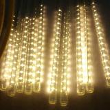 クリスマスのための多彩なLEDの流星シャワー雨管ライト