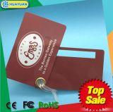 Kundenspezifische Karte des Firmenzeichendruckenplastikluftfahrt-Gepäcks RFID