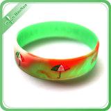Wristband del silicone di modo dei punti di promozione di festival per il regalo