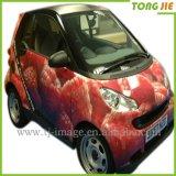 Etiqueta Eco-Friendly do carro dos desenhos animados do vinil UV da proteção