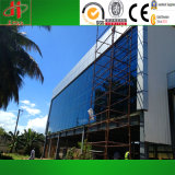 Vor ausgeführtes aufbauendes Metalzelle-Gebäude vor ausführen