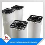fornecedor de alta velocidade do tamanho do rolo do papel de Transfe do calor do Sublimation 45/55/70/80/90/100GSM