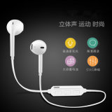 Auscultadores estereofónico dos auriculares do esporte sem fio de Bluetooth Handfree