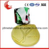 공장 직매 두 배는 빈 금속 스포츠 메달 디자인 편들었다