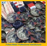 Medalha feita sob encomenda da maratona