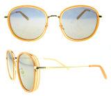 Lunettes de soleil rondes de mode de vente de dessus de qualité de modèle moderne pour des femmes