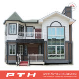 Chambre modulaire de luxe de villa de structure métallique pour vivre/appartement/restauration